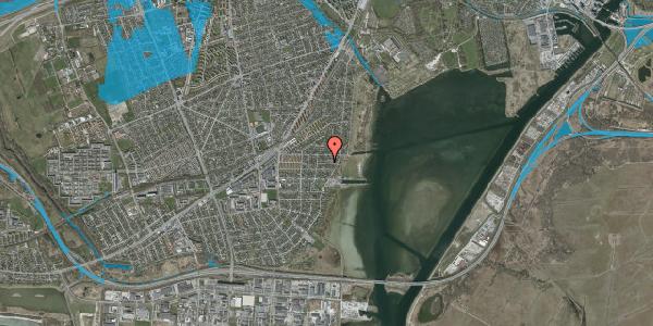 Oversvømmelsesrisiko fra vandløb på Ankermandsvej 26, 2650 Hvidovre