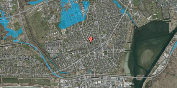 Oversvømmelsesrisiko fra vandløb på Argos Alle 2, 2650 Hvidovre
