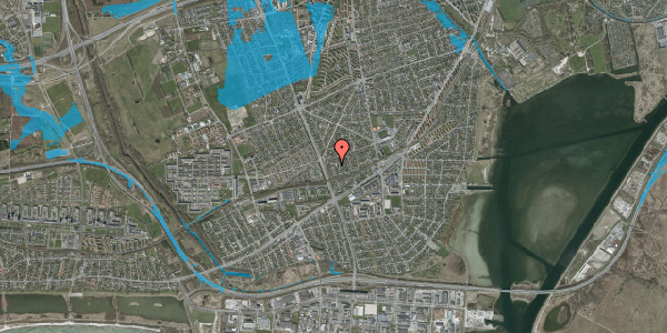 Oversvømmelsesrisiko fra vandløb på Argos Alle 3, 2650 Hvidovre