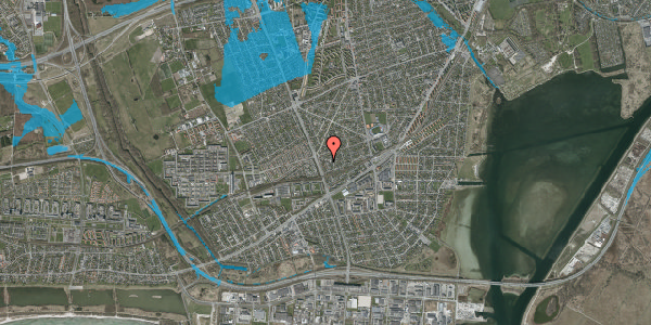 Oversvømmelsesrisiko fra vandløb på Argos Alle 4, 2650 Hvidovre