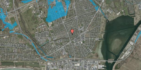 Oversvømmelsesrisiko fra vandløb på Argos Alle 5, 2650 Hvidovre