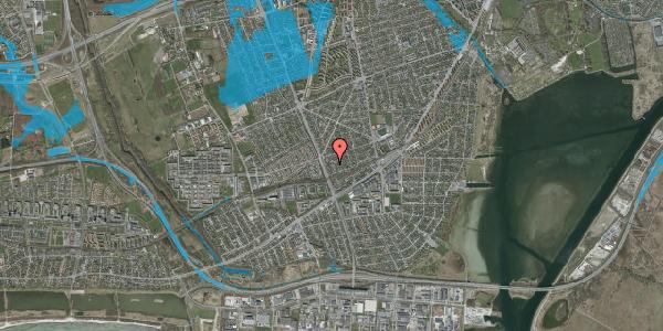 Oversvømmelsesrisiko fra vandløb på Argos Alle 6, 2650 Hvidovre