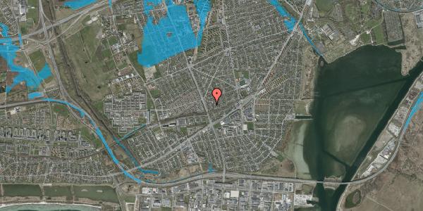 Oversvømmelsesrisiko fra vandløb på Argos Alle 7, 2650 Hvidovre