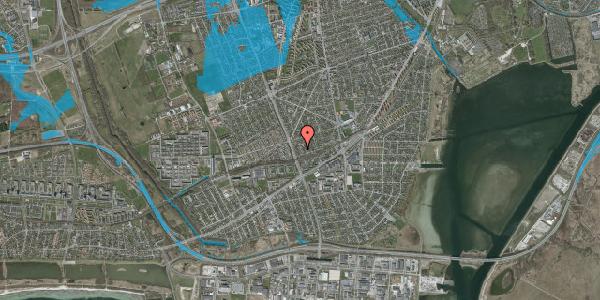 Oversvømmelsesrisiko fra vandløb på Argos Alle 10, 2650 Hvidovre