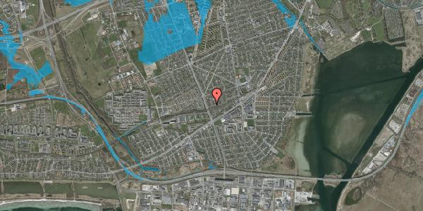 Oversvømmelsesrisiko fra vandløb på Argos Alle 16, 2650 Hvidovre