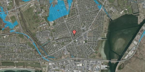 Oversvømmelsesrisiko fra vandløb på Argos Alle 18, 2650 Hvidovre