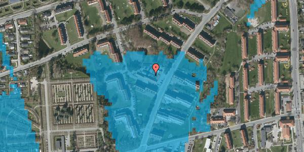 Oversvømmelsesrisiko fra vandløb på Arnold Nielsens Boulevard 24A, st. tv, 2650 Hvidovre