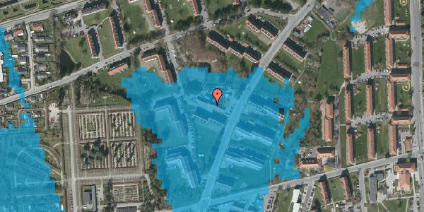 Oversvømmelsesrisiko fra vandløb på Arnold Nielsens Boulevard 26B, 2650 Hvidovre