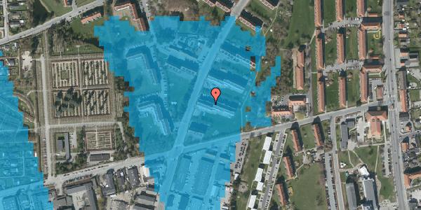 Oversvømmelsesrisiko fra vandløb på Arnold Nielsens Boulevard 35, st. tv, 2650 Hvidovre