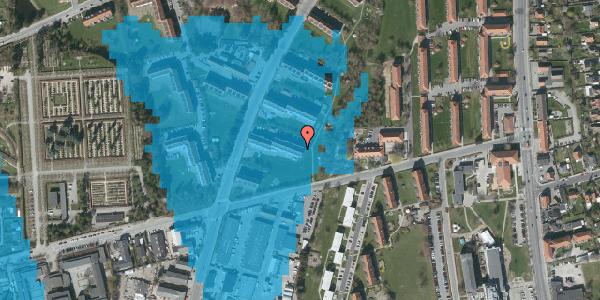 Oversvømmelsesrisiko fra vandløb på Arnold Nielsens Boulevard 41, st. th, 2650 Hvidovre