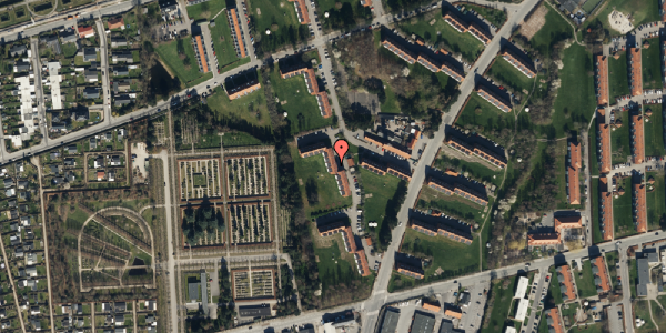 Oversvømmelsesrisiko fra vandløb på Arnold Nielsens Boulevard 52, 1. th, 2650 Hvidovre