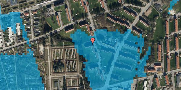 Oversvømmelsesrisiko fra vandløb på Arnold Nielsens Boulevard 56, 3. th, 2650 Hvidovre