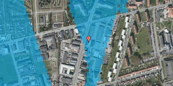 Oversvømmelsesrisiko fra vandløb på Arnold Nielsens Boulevard 65, 2650 Hvidovre
