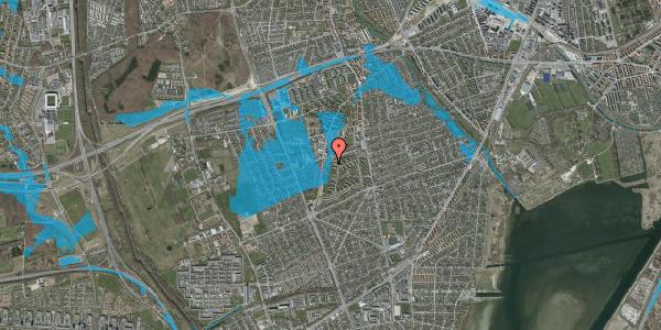 Oversvømmelsesrisiko fra vandløb på Arnold Nielsens Boulevard 87, st. , 2650 Hvidovre
