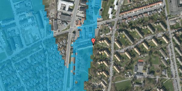 Oversvømmelsesrisiko fra vandløb på Arnold Nielsens Boulevard 89, st. , 2650 Hvidovre