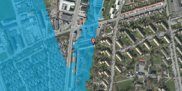 Oversvømmelsesrisiko fra vandløb på Arnold Nielsens Boulevard 91, st. , 2650 Hvidovre