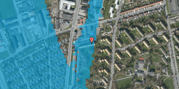 Oversvømmelsesrisiko fra vandløb på Arnold Nielsens Boulevard 93, st. , 2650 Hvidovre