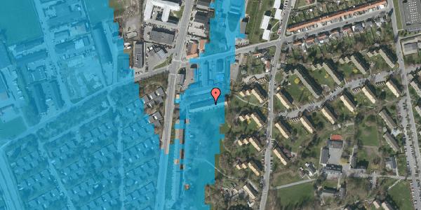 Oversvømmelsesrisiko fra vandløb på Arnold Nielsens Boulevard 95, st. , 2650 Hvidovre