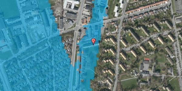 Oversvømmelsesrisiko fra vandløb på Arnold Nielsens Boulevard 97A, 2650 Hvidovre
