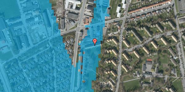 Oversvømmelsesrisiko fra vandløb på Arnold Nielsens Boulevard 97, st. , 2650 Hvidovre