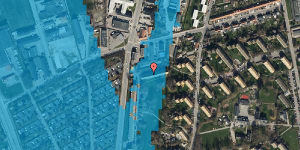 Oversvømmelsesrisiko fra vandløb på Arnold Nielsens Boulevard 99, st. , 2650 Hvidovre