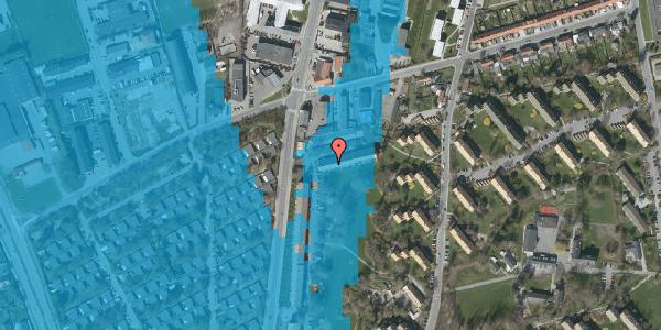 Oversvømmelsesrisiko fra vandløb på Arnold Nielsens Boulevard 103A, 2650 Hvidovre