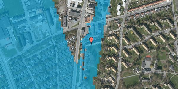 Oversvømmelsesrisiko fra vandløb på Arnold Nielsens Boulevard 103B, 2650 Hvidovre