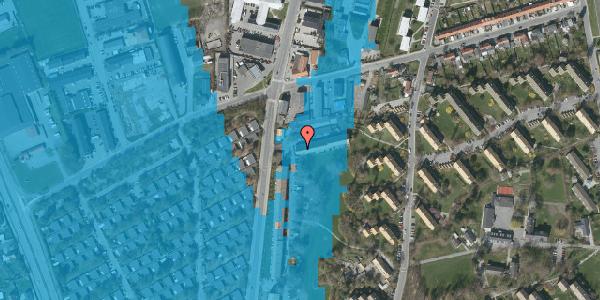 Oversvømmelsesrisiko fra vandløb på Arnold Nielsens Boulevard 105, st. , 2650 Hvidovre