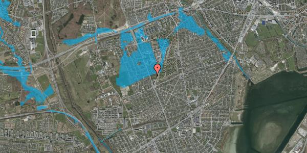 Oversvømmelsesrisiko fra vandløb på Arnold Nielsens Boulevard 112, 2650 Hvidovre