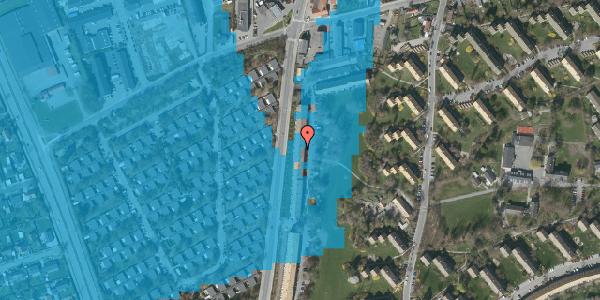 Oversvømmelsesrisiko fra vandløb på Arnold Nielsens Boulevard 115, st. tv, 2650 Hvidovre