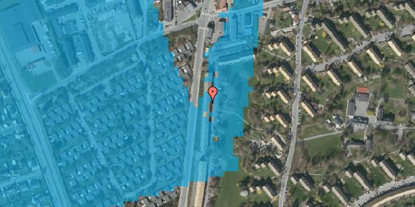 Oversvømmelsesrisiko fra vandløb på Arnold Nielsens Boulevard 115, 2. tv, 2650 Hvidovre