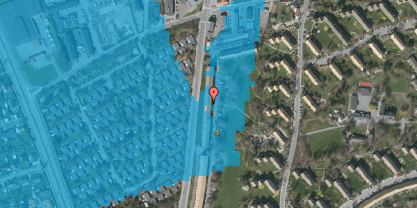 Oversvømmelsesrisiko fra vandløb på Arnold Nielsens Boulevard 117, 2. th, 2650 Hvidovre