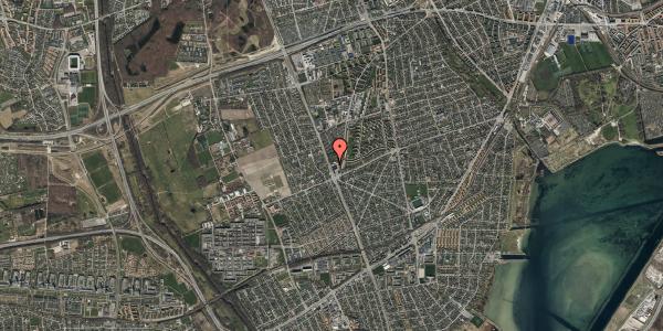 Oversvømmelsesrisiko fra vandløb på Arnold Nielsens Boulevard 130, 2650 Hvidovre