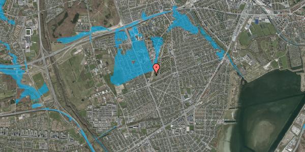 Oversvømmelsesrisiko fra vandløb på Arnold Nielsens Boulevard 159, 2. tv, 2650 Hvidovre