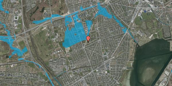 Oversvømmelsesrisiko fra vandløb på Arnold Nielsens Boulevard 161, 1. th, 2650 Hvidovre