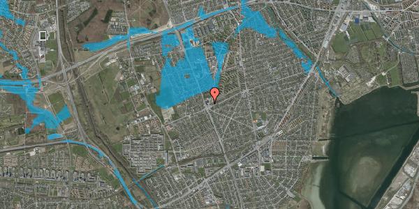 Oversvømmelsesrisiko fra vandløb på Arnold Nielsens Boulevard 181, 2650 Hvidovre
