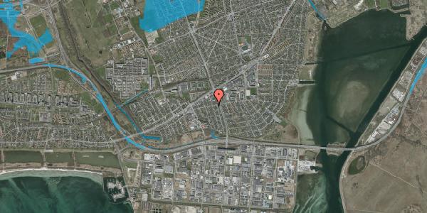Oversvømmelsesrisiko fra vandløb på Avedøre Enghavevej 7, 2650 Hvidovre