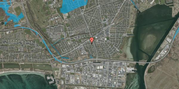 Oversvømmelsesrisiko fra vandløb på Avedøre Enghavevej 12, 2650 Hvidovre
