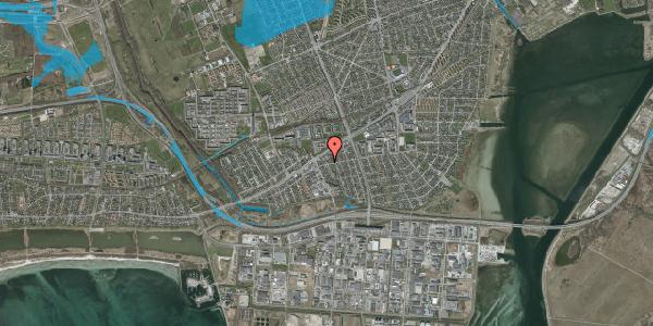 Oversvømmelsesrisiko fra vandløb på Avedøre Enghavevej 22, 2650 Hvidovre