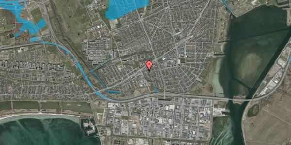 Oversvømmelsesrisiko fra vandløb på Avedøre Enghavevej 23, 2650 Hvidovre