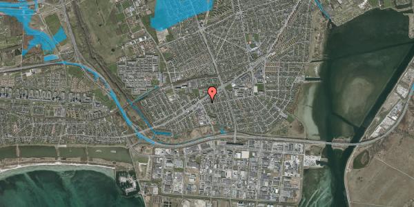 Oversvømmelsesrisiko fra vandløb på Avedøre Enghavevej 24, 2650 Hvidovre