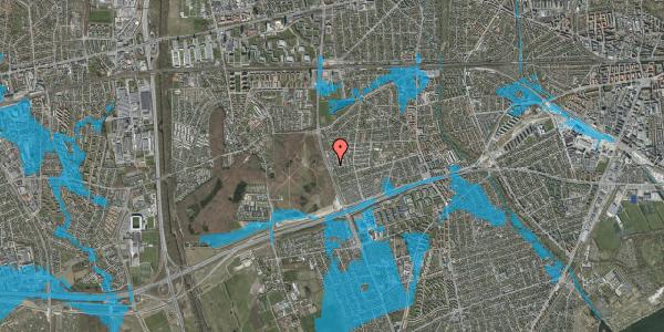 Oversvømmelsesrisiko fra vandløb på Avedøre Havnevej 35, 2650 Hvidovre