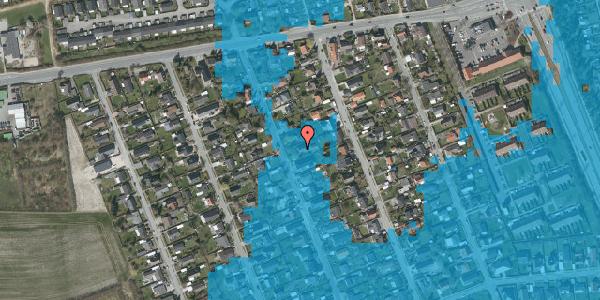 Oversvømmelsesrisiko fra vandløb på Avedøregårdsvej 13, 2650 Hvidovre