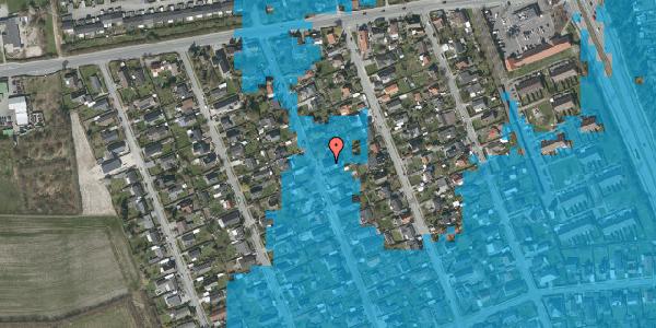 Oversvømmelsesrisiko fra vandløb på Avedøregårdsvej 15, 2650 Hvidovre