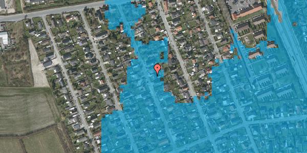 Oversvømmelsesrisiko fra vandløb på Avedøregårdsvej 19, 2650 Hvidovre