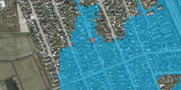 Oversvømmelsesrisiko fra vandløb på Avedøregårdsvej 30, 2650 Hvidovre