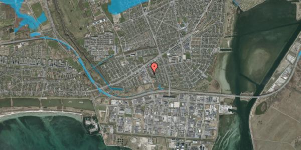 Oversvømmelsesrisiko fra vandløb på Batterivej 4, 2650 Hvidovre
