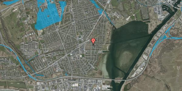 Oversvømmelsesrisiko fra vandløb på Bavnevej 6, 1. tv, 2650 Hvidovre