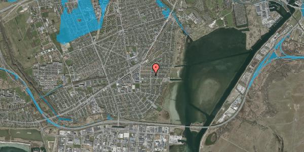 Oversvømmelsesrisiko fra vandløb på Bavnevej 7, 2650 Hvidovre