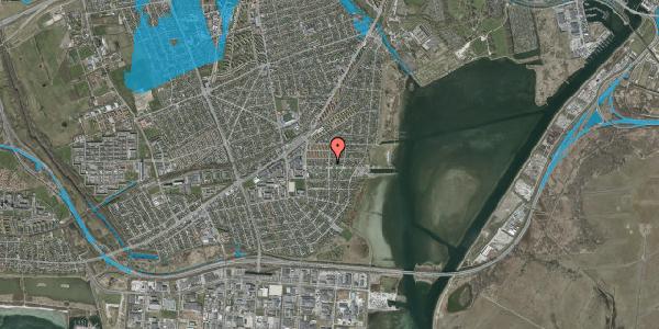 Oversvømmelsesrisiko fra vandløb på Bavnevej 9, 2650 Hvidovre